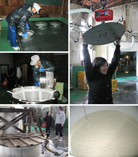 洗米・浸漬・計量器・蒸し器・醪
