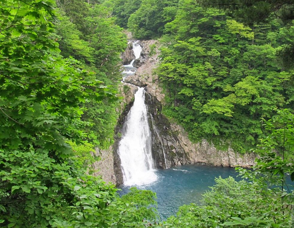 法体の滝-夏