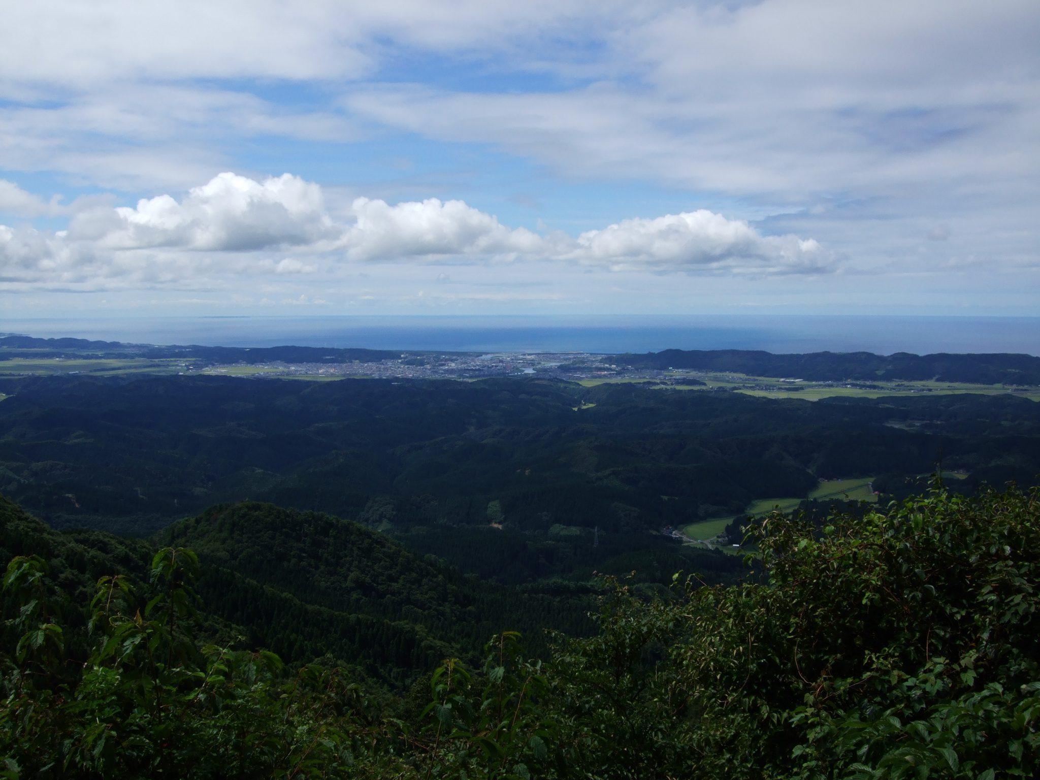 東光山山頂からの眺め