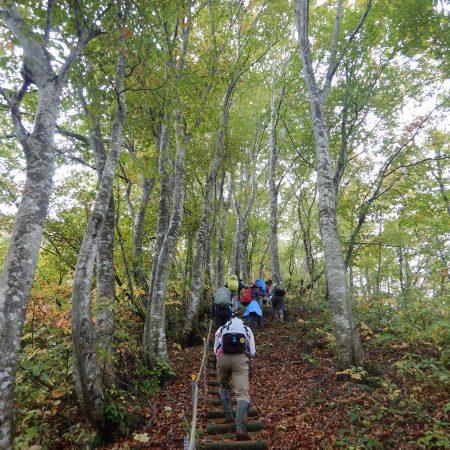 秋の八塩登山